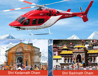 Badrinath Kedarnath Yatra by helicopter Via Sirsi