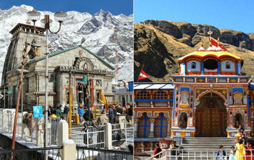Do Dham Yatra by Helicopter via Sirsi