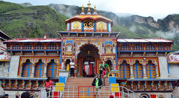 badrinath tample in Uttarakhand