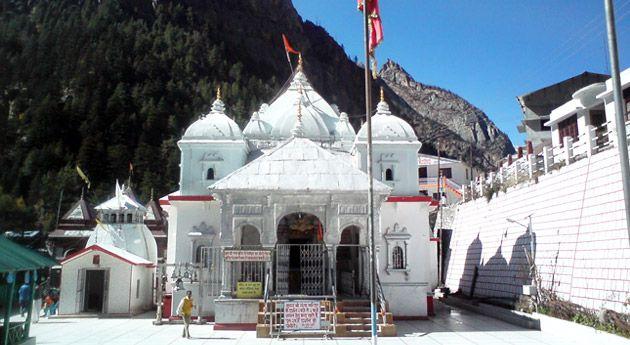 gangotri tample in Uttarakhand