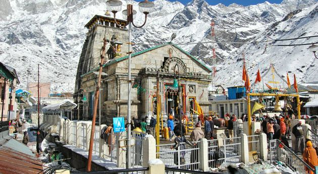 kedarnath tample in Uttarakhand