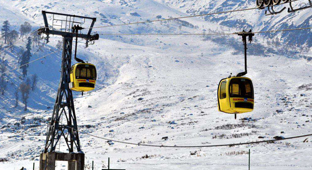 Cable car ride Gulmarg