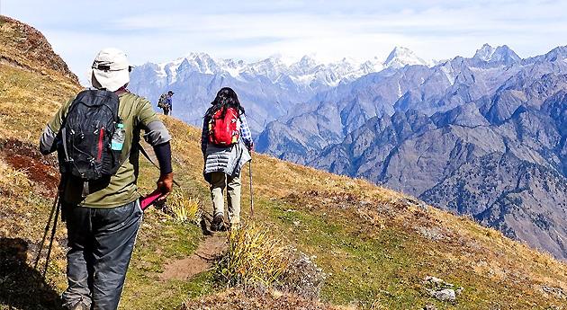 Kuari Pass Trek in uttarakhand