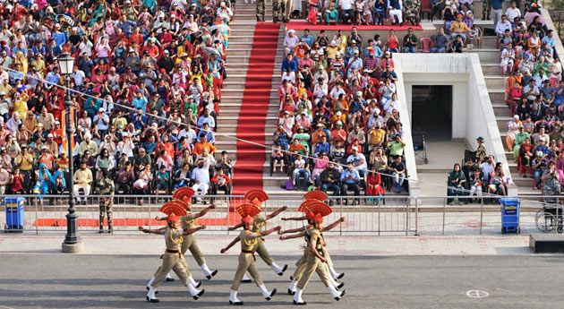 Wagah order Ceremony