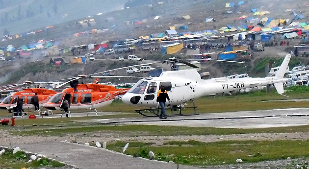 Amarnath Yatra 2019 by Helicopter