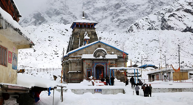 kedarnath temple in uttarakhand