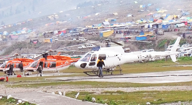 Amarnath Yatra by Helicopter 2020 via Baltal