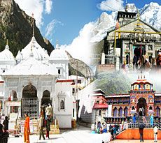 Gangotri Badrinath Kedarnath - Teen Dham Yatra
