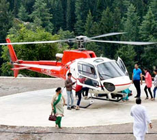 Chardham Helicopter Package